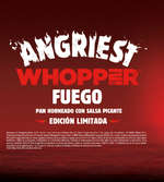Ofertas de Burger King, Angriest Whopper