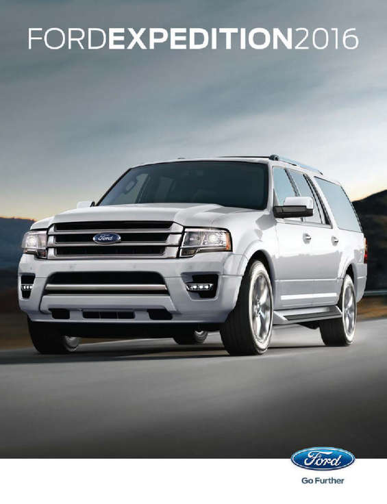 Ofertas de Ford, Expedition 2016