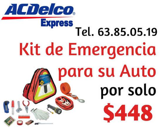 Ofertas de ACDelco, Kit Emergencia ACDelco