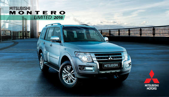 Ofertas de Mitsubishi Motors, Montero Limited 2016