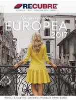 Ofertas de Recubre, Inspiración Europea