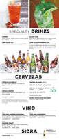 Ofertas de Chili's, Menú Jalisco