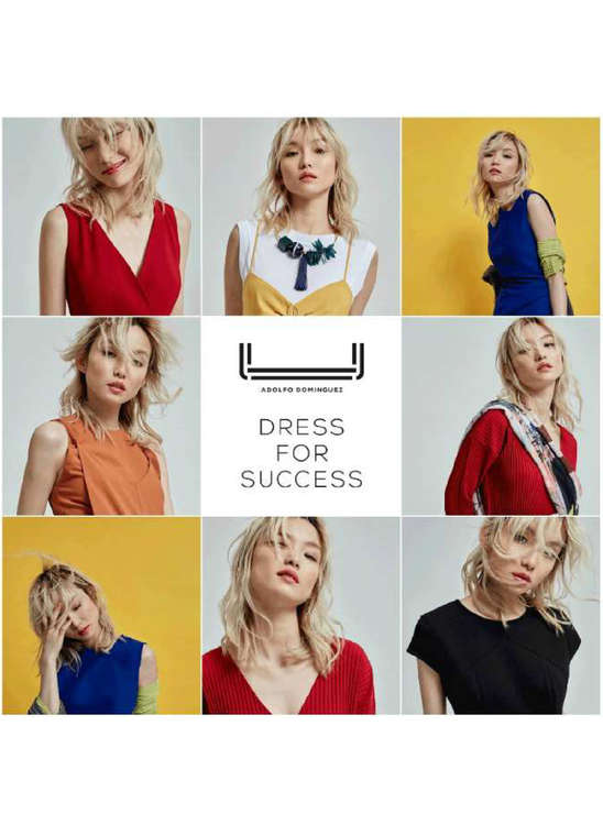 Ofertas de Adolfo Dominguez, Dress for success