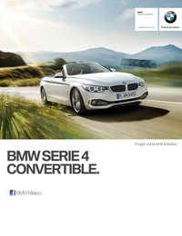 Ficha Técnica BMW 440iA Convertible M Sport Automático 2017