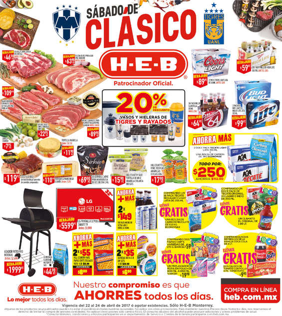 Ofertas de H-E-B, Sábado de clásico