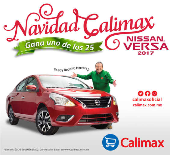 Ofertas de Calimax, Navidad calimax
