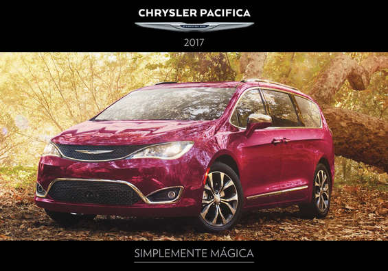 Ofertas de Chrysler, Pacifica-2017