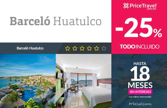 Ofertas de Price Travel, Barceló Huatulco