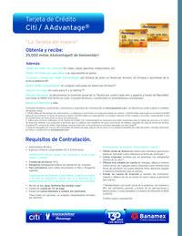 Tarjeta de crédito Citi / AAdvantage