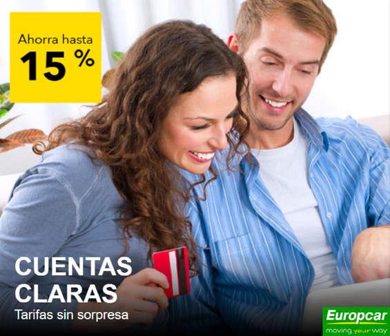 Ofertas de Europcar, Ofertas Especiales