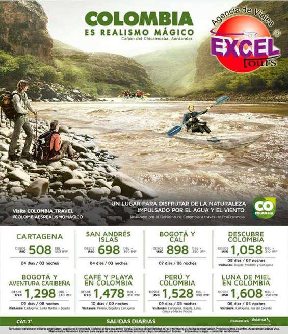 Ofertas de Excel Tours, colombia