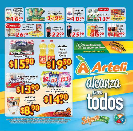 Ofertas de Arteli, Folleto quincenal