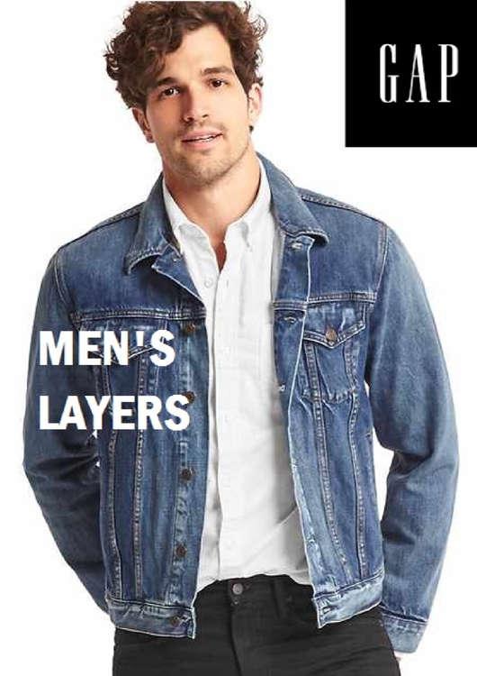 Ofertas de GAP, Men's Layers