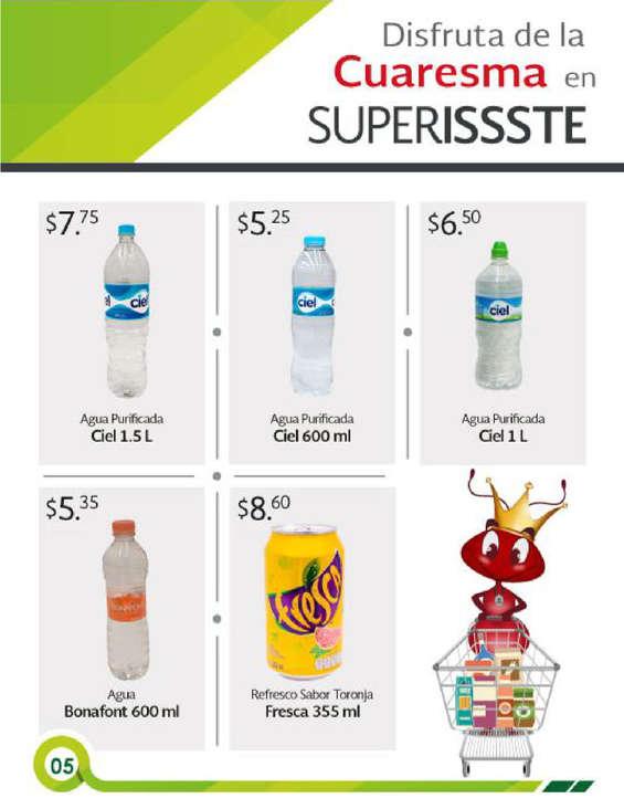 Ofertas de SUPERISSSTE, Folleto mensual
