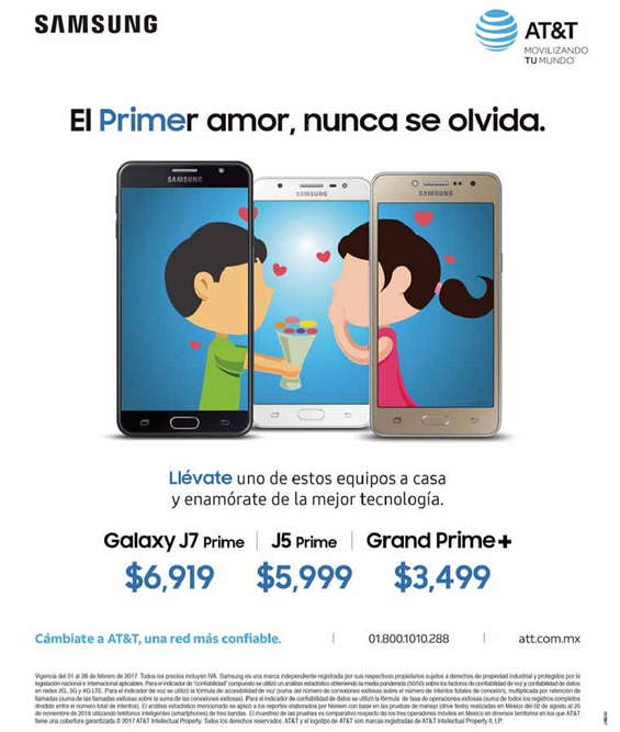 Ofertas de AT&T, El primer amor, nunca se olvida