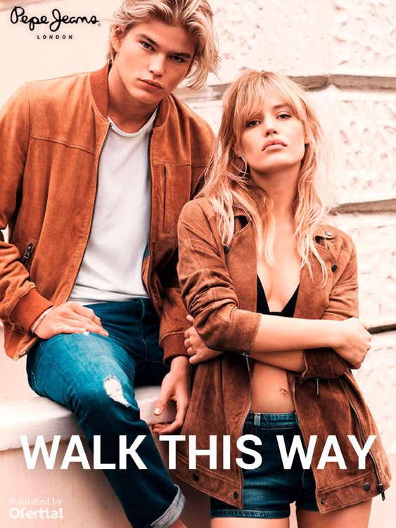Ofertas de Pepe Jeans, Walk this way