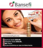 Ofertas de Bansefi, Tu cuenta ahorro