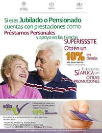 Descuento a jubilados o pensionados