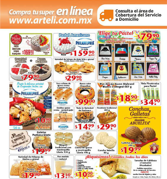 Ofertas de Arteli, Folleto quincenal