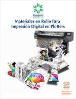 Ofertas de Lozano, Materiales en rollo para impresión digital en plotters