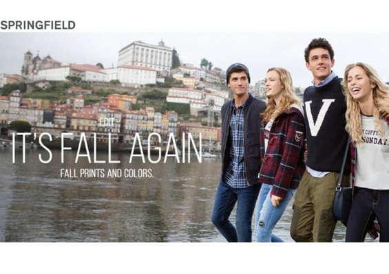 Ofertas de Springfield, It's fall again