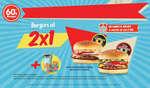 Ofertas de Sixties Burger, Burgers al 2x1