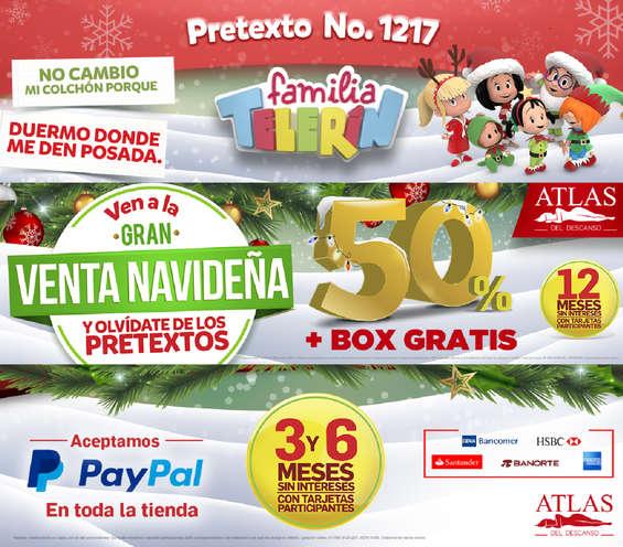Ofertas de Atlas, Ven a la gran venta navideña