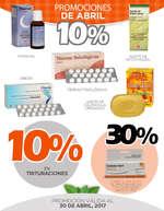 Ofertas de Farmacias Médicor, PROMOS_ABRIL