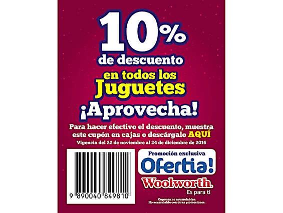 Ofertas de Woolworth, 10% De descuento en todos los juguetes