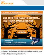 Ofertas de Vitrocar, Promoción del mes