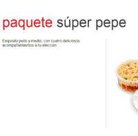 Menú El Pollo Pepe