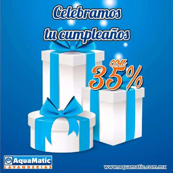Ofertas de AquaMatic, Celebramos tu cumpleaños
