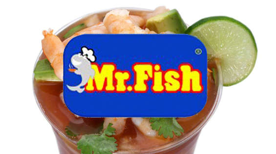Ofertas de Mr. Fish, Menú