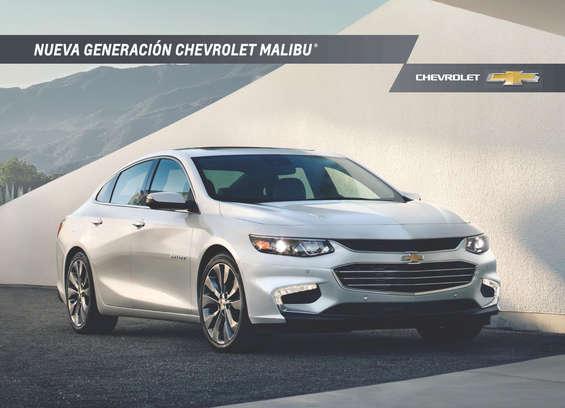 Ofertas de Chevrolet, Malibu 2016