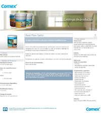 Catálogo Productos Comex
