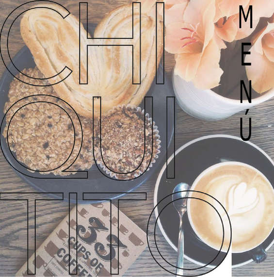Ofertas de Chiquito Café, Menú normal