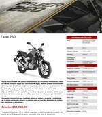 Ofertas de Yamaha, FZ Series Fazer 250