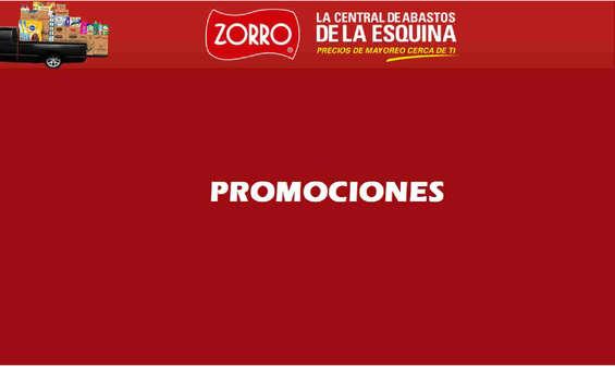 Ofertas de Zorro, Promociones
