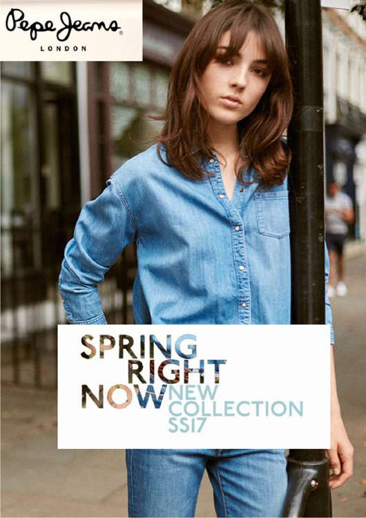 Ofertas de Pepe Jeans, Spring right now 2017