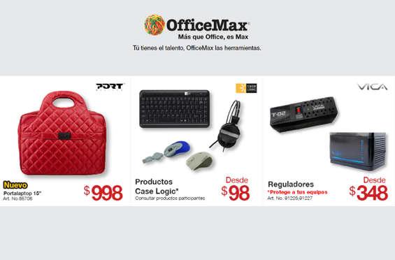 Ofertas de Office Max, Promociones Mensuales