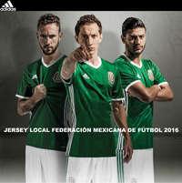 Jersey Local Federación Mexicana De Fútbol 2016