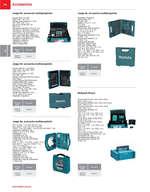Ofertas de Makita, Accesorios