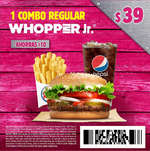 Ofertas de Burger King, Cupones Burger king