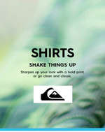Ofertas de Quiksilver, Shirts