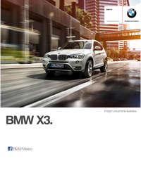 Ficha Técnica BMW X3 sDrive20iA Automático 2017