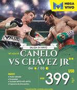 Ofertas de Mega Travel, Canelo vs Chávez Jr.