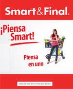 Ofertas de Smart & Final, Piensa smart