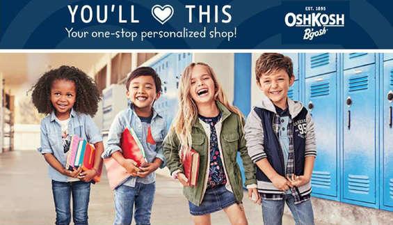 Ofertas de OshKosh, You'll love