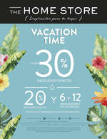 Ofertas de The Home Store, Vacation Time