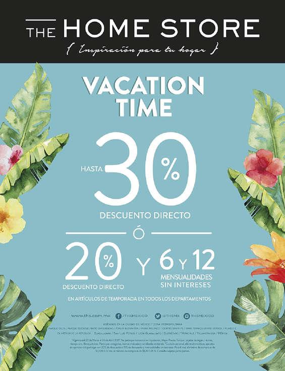 Ofertas de The Home Store, Vacation Time